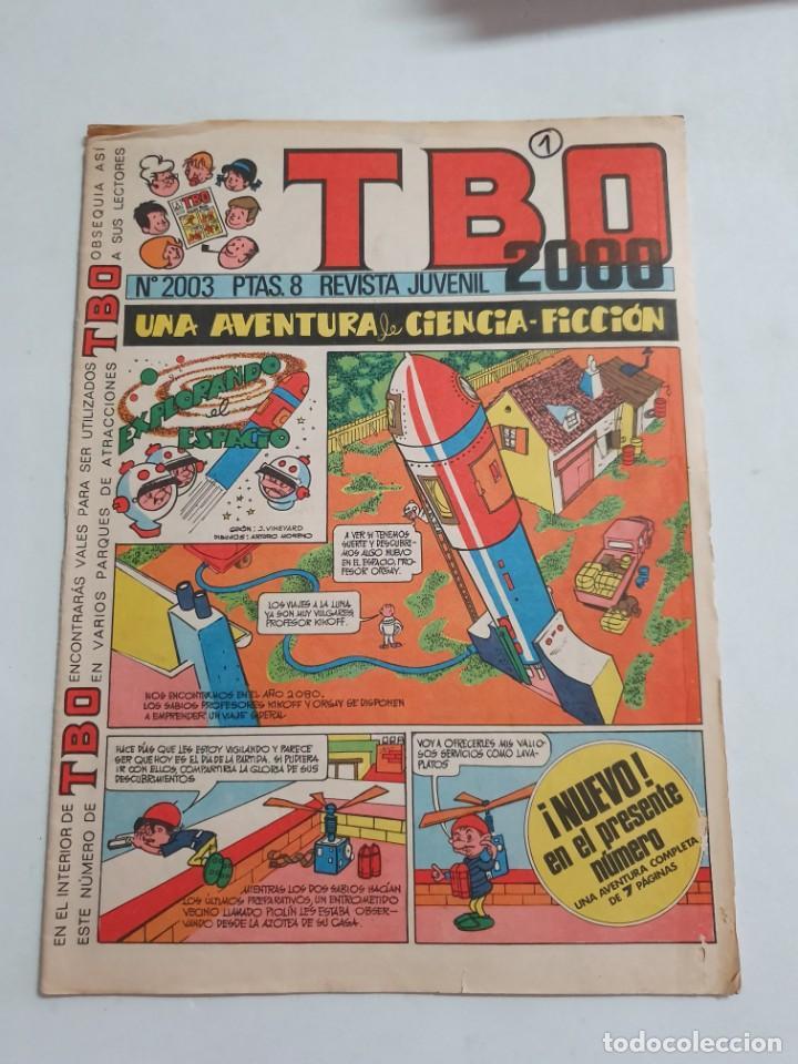 TBO 2008 Nº 2003 ESTADO BUENO MAS ARTICULOS (Tebeos y Comics - Buigas - TBO)