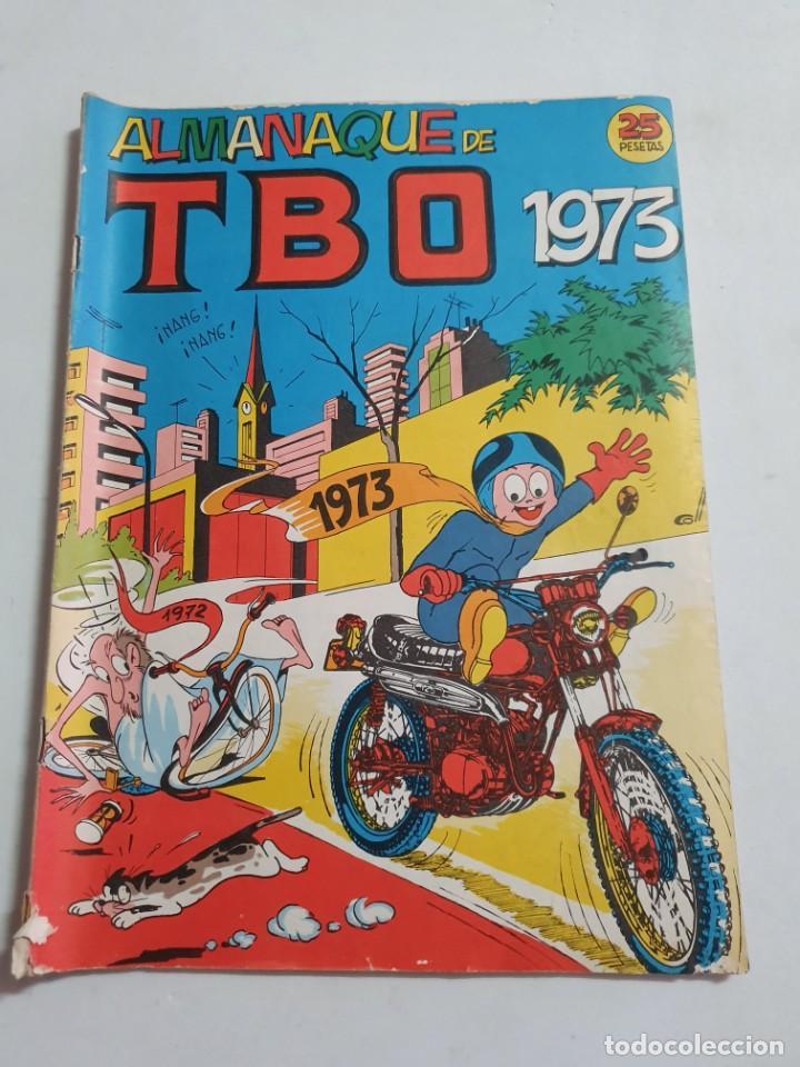 TBO ALMANAQUE DE TBO 1973 ESTADO NORMAL BUENO MAS ARTICULOS (Tebeos y Comics - Buigas - TBO)