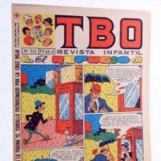 Tebeos: TBO REVISTA INFANTIL 712. EL REFUGIO (VVAA) BUIGAS, 1971. OFRT. Lote 276232688