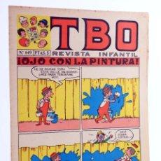Tebeos: TBO REVISTA INFANTIL 649. OJO CON LA PINTURA (VVAA) BUIGAS, 1970. OFRT. Lote 276232693