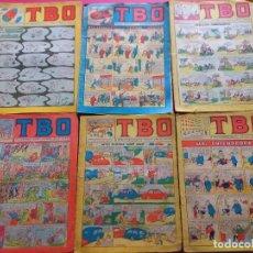 Tebeos: 6 TBO -NUMEROS: 6-25-65-70-73-82. Lote 276438243