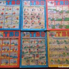Tebeos: 6 TBO -NUMEROS: 87-93-95-98-105-121-. Lote 276438363