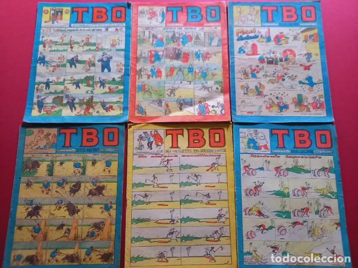 6 TBO -NUMEROS: 123-146-147-153-163-171 (Tebeos y Comics - Buigas - TBO)
