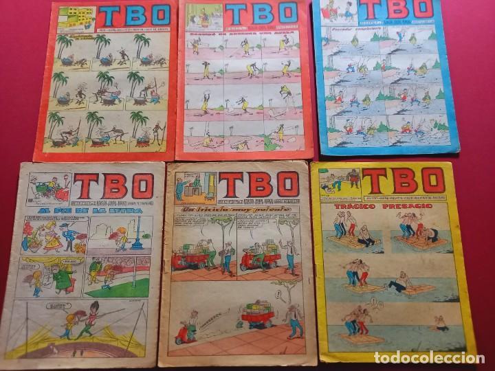 6 TBO -NUMEROS: 125-179-195-231-249-91 (Tebeos y Comics - Buigas - TBO)