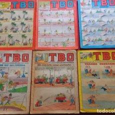 Tebeos: 6 TBO -NUMEROS: 125-179-195-231-249-91. Lote 276438763