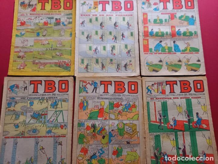 6 TBO -NUMEROS: 142-209-210-214-215-218 (Tebeos y Comics - Buigas - TBO)