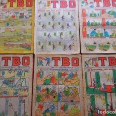 Tebeos: 6 TBO -NUMEROS: 142-209-210-214-215-218. Lote 276438858