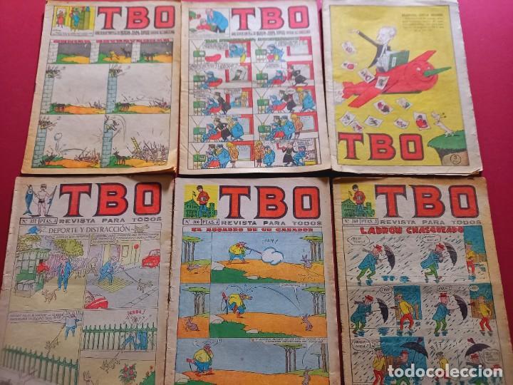 6 TBO -NUMEROS: 290-291-332-357-366-369 (Tebeos y Comics - Buigas - TBO)