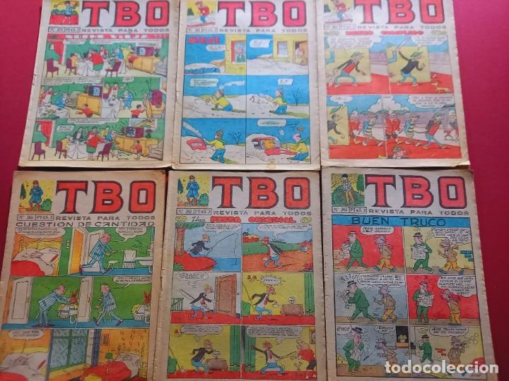 6 TBO -NUMEROS: 375-381-382-386-387-393 (Tebeos y Comics - Buigas - TBO)