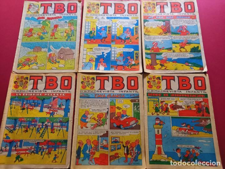 6 TBO -NUMEROS: 519-549-559-561-564-566 (Tebeos y Comics - Buigas - TBO)