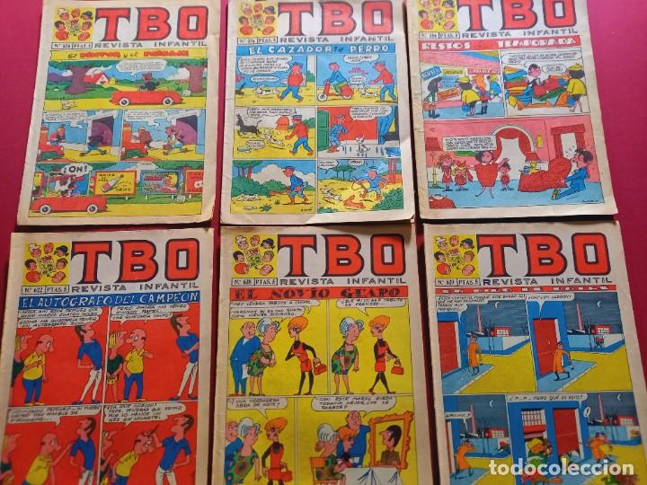 6 TBO -NUMEROS: 573-576-586-622-628-629 (Tebeos y Comics - Buigas - TBO)