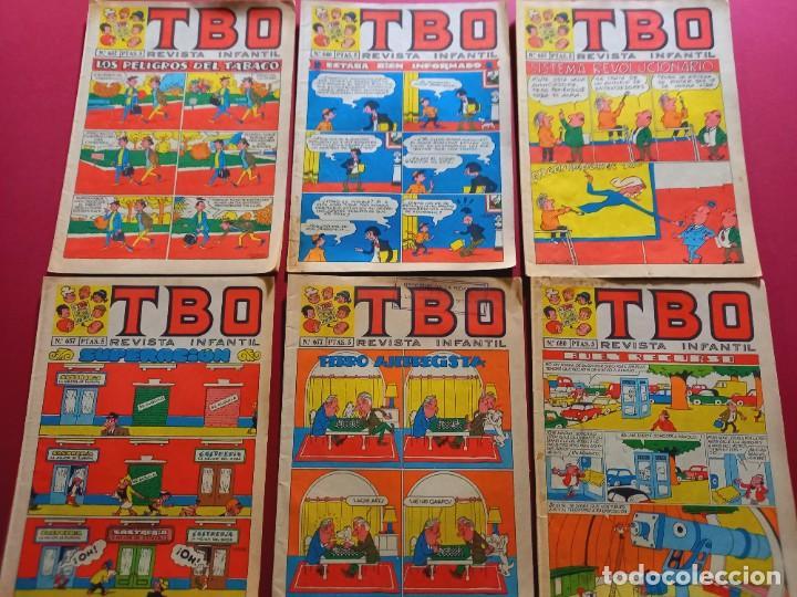 6 TBO -NUMEROS: 632-646-655-657-677-680 (Tebeos y Comics - Buigas - TBO)