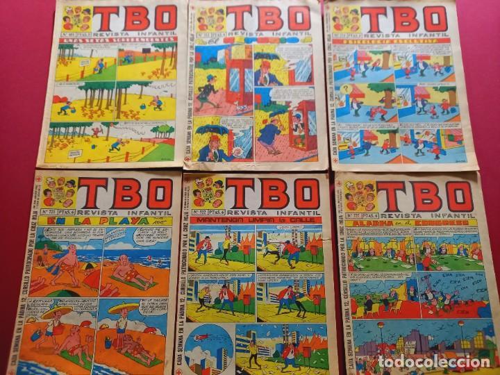 6 TBO -NUMEROS: 681-712-713-721-722-727 (Tebeos y Comics - Buigas - TBO)