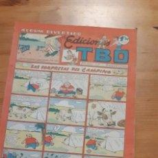 """Tebeos: TEBEOS. TBO - ARIBAU 177. BARCELONA. LAS SORPRESAS DEL """"CAMPING"""". Lote 277026253"""