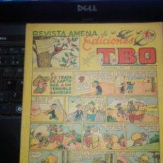 Giornalini: REVISTA AMENA DE EDICIONES TBO: SE TRATA DE CAPTURAR A UN TERRIBLE BANDIDO. Lote 277062988