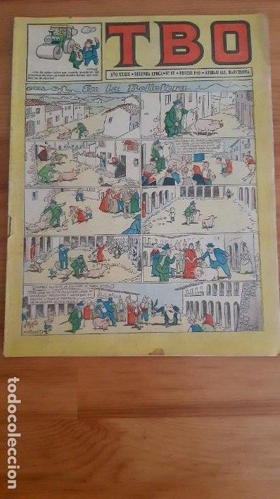 TEBEOS. TBO - ARIBAU 163. BARCELONA. AÑO XXXIX - SEGUNDA ÈPOCA - Nº97 (Tebeos y Comics - Buigas - TBO)