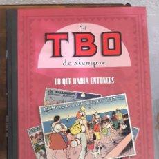Tebeos: EL TBO DE SIEMPRE. TOMO Nº5. LO QUE HABÍA ENTONCES. TAPA DURA. Lote 278353468