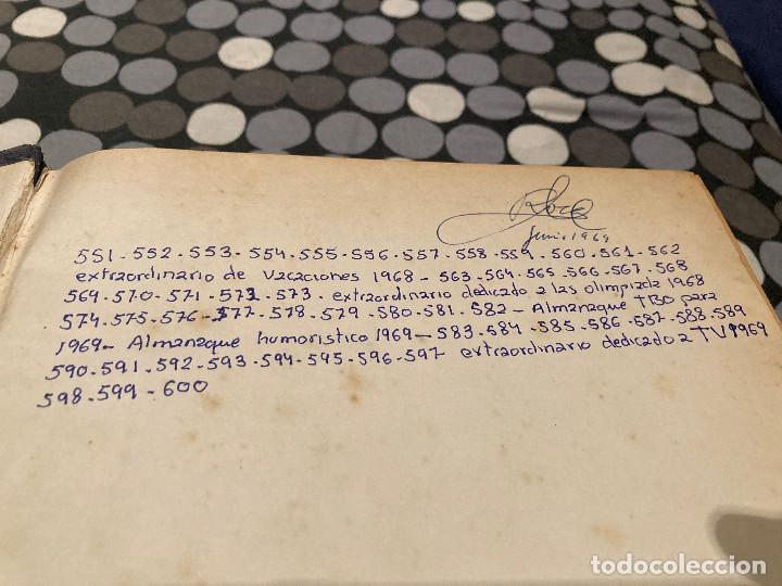 Tebeos: TOMO DE TBO DEL 551 AL 600 MAS 5 EXTRAORDINARIOS ESTAN ENCUADERNADOS SEGUN APARECIERON EN EL MERCADO - Foto 2 - 285978778