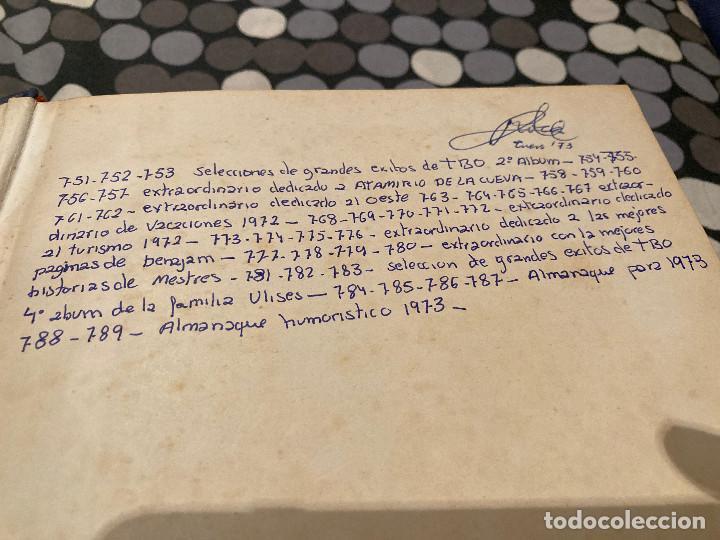 Tebeos: TOMO DE TBO DEL 751 AL789 MAS 10 EXTRAORDINARIOS ESTAN ENCUADERNADOS SEGUN APARECIERON EN EL MERCADO - Foto 2 - 286143943