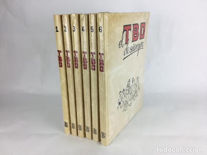 TBO EL TBO DE SIEMPRE 6 TOMOS COLECCIÓN COMPLETA 1995 EDICIONES B (Tebeos y Comics - Buigas - TBO)