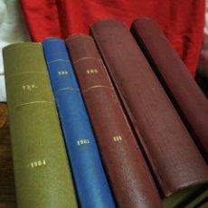 Tebeos: INCREÍBLE LOTE TBO (BUIGAS) 1958-1964, ALMANAQUES AÑOS Y HUMORÍSTICOS, (N°166-374).COMPLETO!!!!.. Lote 287097068