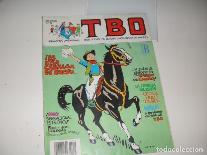TBO 48.EDCIONES B,AÑO 1988.. (Tebeos y Comics - Buigas - TBO)