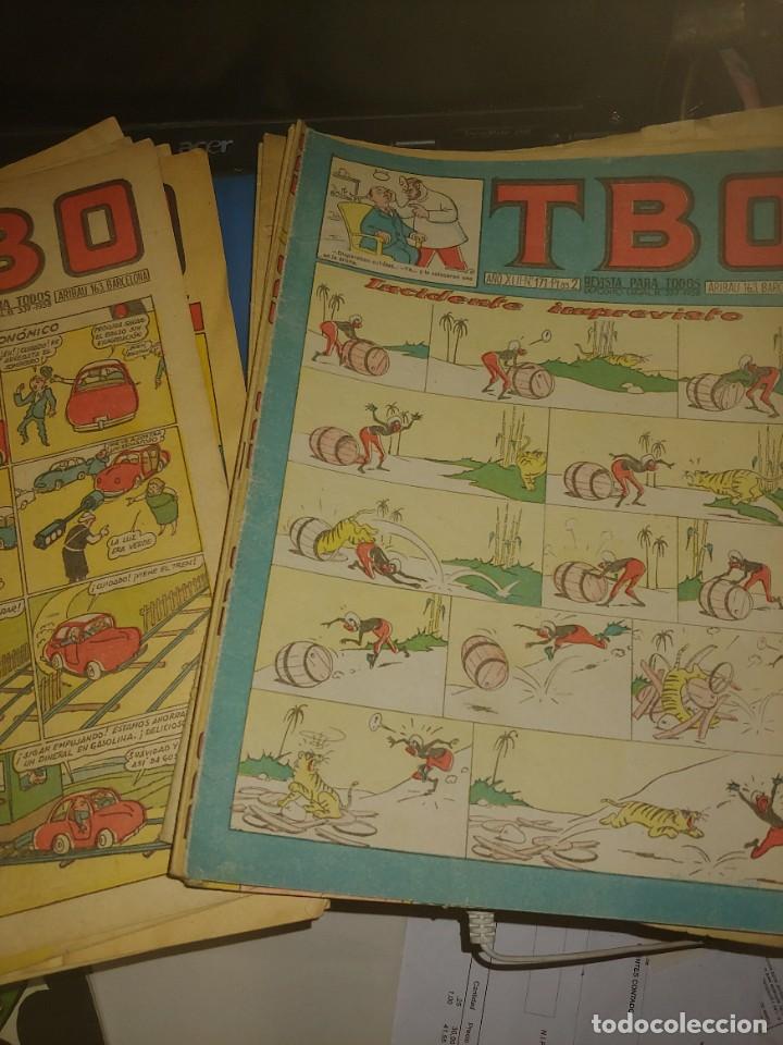 LOTE DE 31 COMICS TBO (Tebeos y Comics - Buigas - TBO)