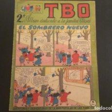 Tebeos: COMIC EDITORIAL BUIGAS TBO 2º ÁLBUM FAMILIA ULISES. Lote 288216028