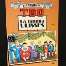Tebeos: ELS ARXIUS DE TBO Nº 1. LA FAMILIA ULISSES ( EN CATALÀ) TEBEOS Y COMICS - BUIGAS - TBO. Lote 288222378