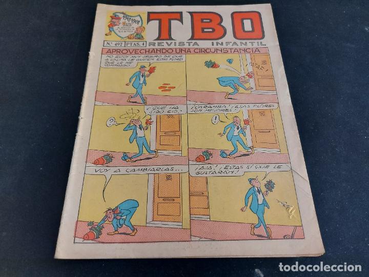 TBO / REVISTA INFANTIL / 497 / 4 PTAS / AÑO 1967 / ROTURA EN PORTADA. (Tebeos y Comics - Buigas - TBO)