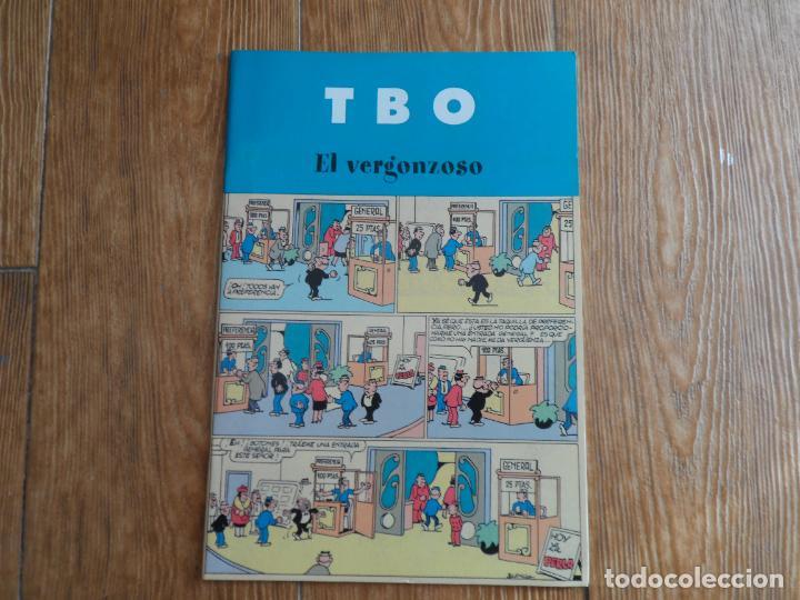 TBO, EL VERGONZOSO. EDICIONES B 2003 (Tebeos y Comics - Buigas - TBO)