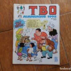 Tebeos: TBO ALMANAQUE PARA 1992 EDITA B. Lote 288663183