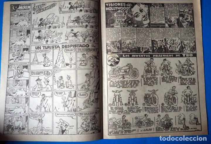 Tebeos: TEBEO: TBO. SIN NUMERAR .NOCHE AGITADA.ANTIGUO OBSEQUIO DE LA CAJA DE AHORROS DE BURGOS - Foto 4 - 289473713