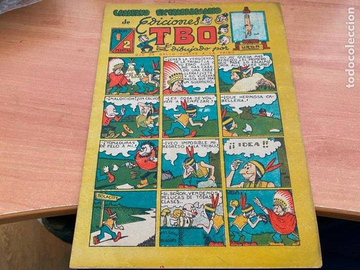 TBO ALBUM Nº 1. CUADERNO EXTRAORDINARIO DE URDA (BUIGAS ORIGINAL) (COIB207) (Tebeos y Comics - Buigas - TBO)