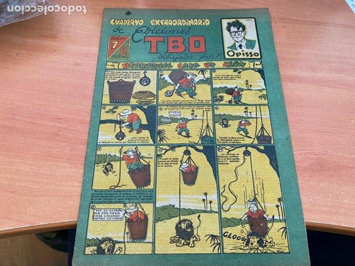 TBO ALBUM Nº 7. CUADERNO EXTRAORDINARIO DE OPISSO (BUIGAS ORIGINAL) (COIB207) (Tebeos y Comics - Buigas - TBO)