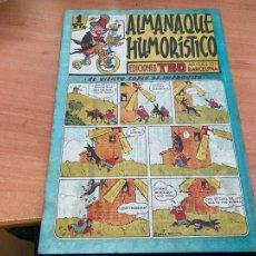 Tebeos: TBO ALMANAQUE HUMORISTICO PARA 1945 (BUIGAS ORIGINAL) (COIB207). Lote 289517373