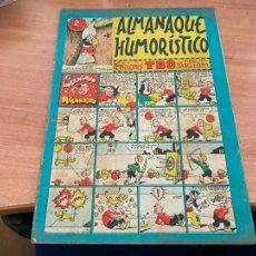Tebeos: TBO ALMANAQUE HUMORISTICO PARA 1952 EL INGENIOSO RICARDITO (BUIGAS ORIGINAL) (COIB207). Lote 289517703