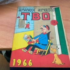 Tebeos: TBO ALMANAQUE HUMORISTICO PARA 1966 CONTRAPORTADA FIGURAS BELEN SABATES (ORIGINAL BUIGAS) (COIB207). Lote 289753278