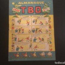 Livros de Banda Desenhada: COMIC EDITORIAL BUIGAS TBO RECORTABLE BELEN OPISSO ALMANAQUE 1960. Lote 290775808
