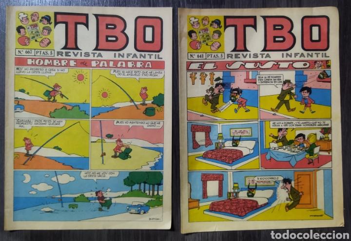 Tebeos: Lote de 14 TBOS años 60-70 - Foto 4 - 289595563