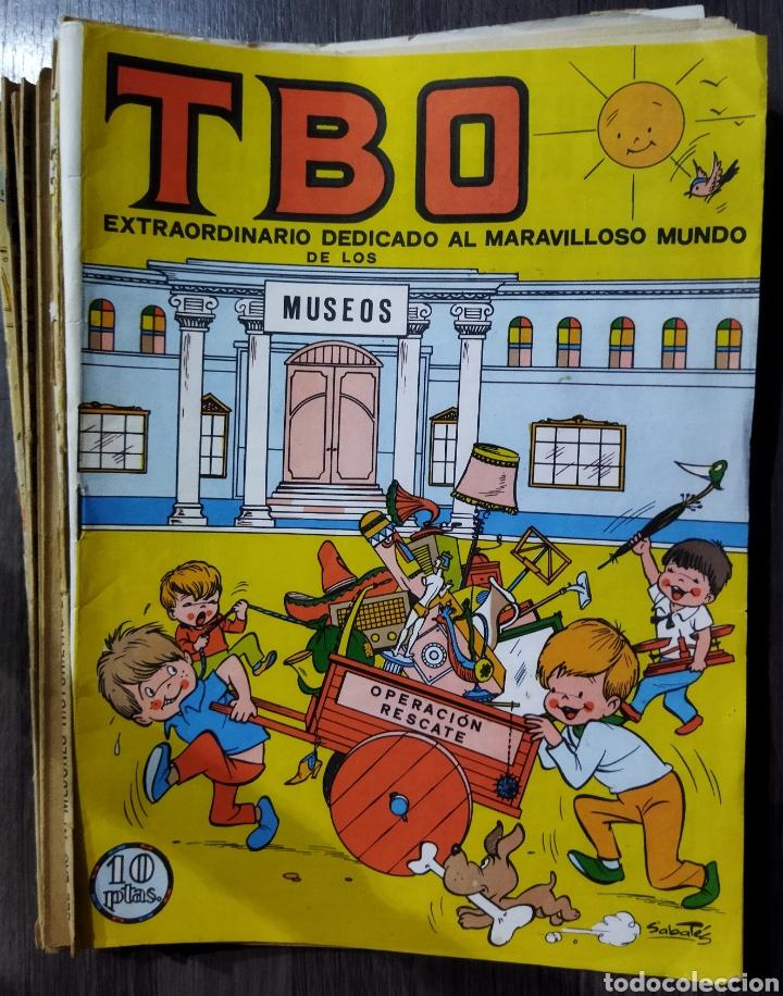 LOTE DE 14 TBOS AÑOS 60-70 (Tebeos y Comics - Buigas - TBO)