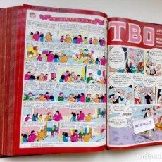 Tebeos: TBO EL PERIÓDICO,AÑO 1988,110 NUMEROS,COMPLETO,MORTADELO Y FILEMON,ENCUADERNADO.. Lote 292348048