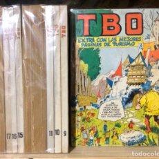Tebeos: TBO 2000, 17 PRIMEROS RETAPADOS, AÑO 1972/1983,(EDICIONES TBO/BUIGAS ESTIVILL Y VIÑA).. Lote 293416918