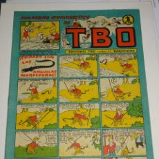 Tebeos: (M7) TBO - CUADERNOS HUMORISTICOS DE TBO N.31 - EDT. BUIGAS, BUEN ESTADO. Lote 293773973
