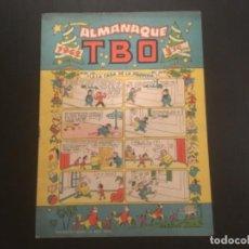 Tebeos: COMIC EDITORIAL BUIGAS TBO RECORTABLE BELEN OPISSO ALMANAQUE 1962. Lote 294561293