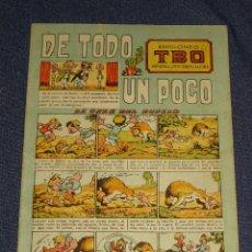 Tebeos: (M1) TBO - DE TODO UN POCO N.3 - EDICIONES TBO 1943, MUY RARO, SEÑALES DE USO. Lote 295642513