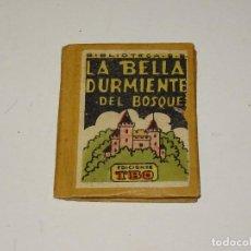 Tebeos: (M0) LA BELLA DURMIENTE DEL BOSQUE - BIBLIOTECA B.B., EDICIONES TBO, N.12, BENEJAM, ORIGINAL,5,5X7CM. Lote 296788133