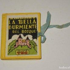 Tebeos: (M0) LA BELLA DURMIENTE DEL BOSQUE - BIBLIOTECA B.B., EDICIONES TBO, N.12, BENEJAM, ORIGINAL,5,5X7CM. Lote 296788438