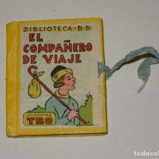 Tebeos: (M0) EL COMPAÑERO DE VIAJE - BIBLIOTECA B.B., EDICIONES TBO, N.15, BENEJAM, ORIGINAL,5,5X7CM. Lote 296789523
