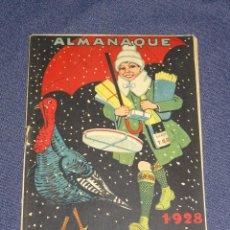 Tebeos: (M1) ALMANAQUE TBO 1928 - PORTADA DE OPISSO, ORIGINAL, BUIGAS. Lote 297052553